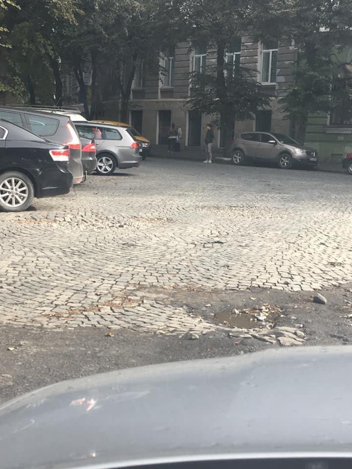 У Тернополі бруківка не витримує осінньої негоди (ФОТОФАКТ), фото-6