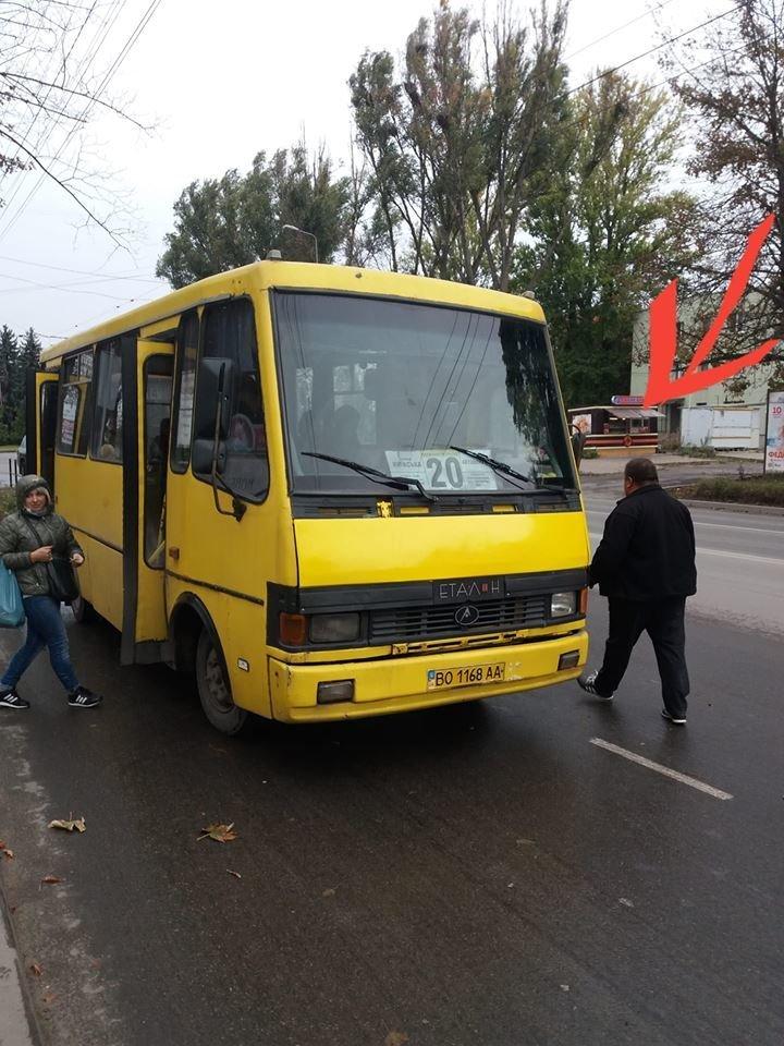 Водії тернопільських маршруток скандалять та «обливають» матюками навіть контролерів (ФОТО), фото-1