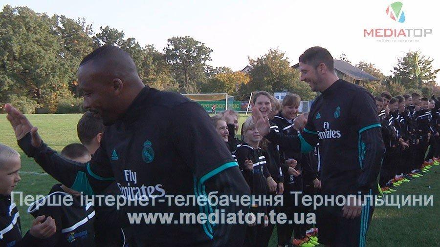 З рахунком 0:0 зіграли гравці команди «Реал Мадрид» в матчі проти тернопільських школярів (ФОТО, ВІДЕО), фото-1