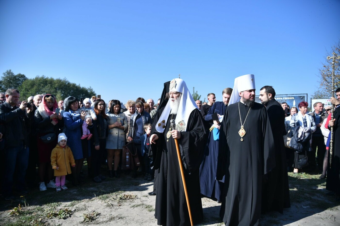 На Тернопільщину прибув Святійший Патріарх Київський і всієї Русі-України Філарет (фото), фото-3