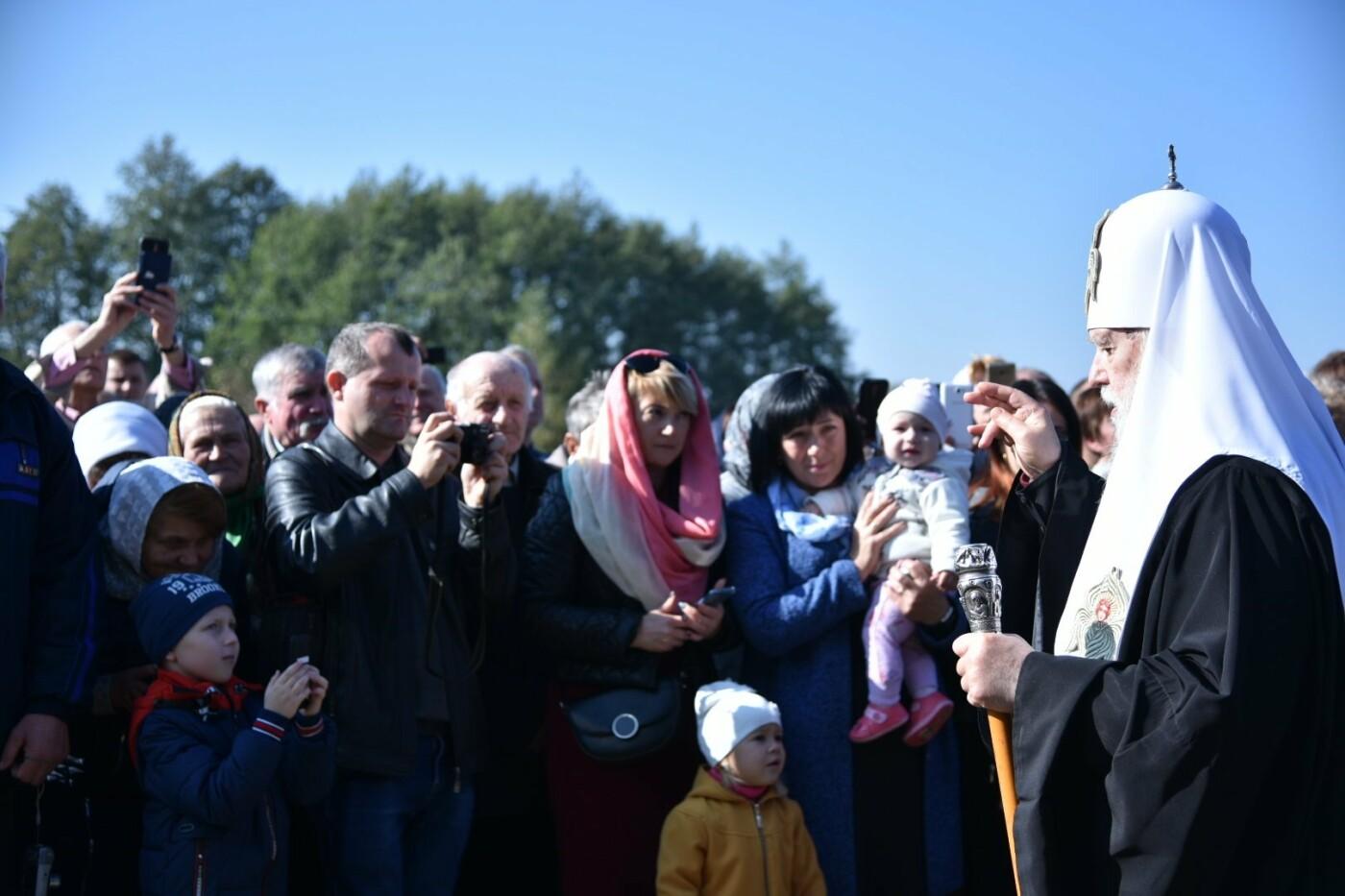 На Тернопільщину прибув Святійший Патріарх Київський і всієї Русі-України Філарет (фото), фото-1