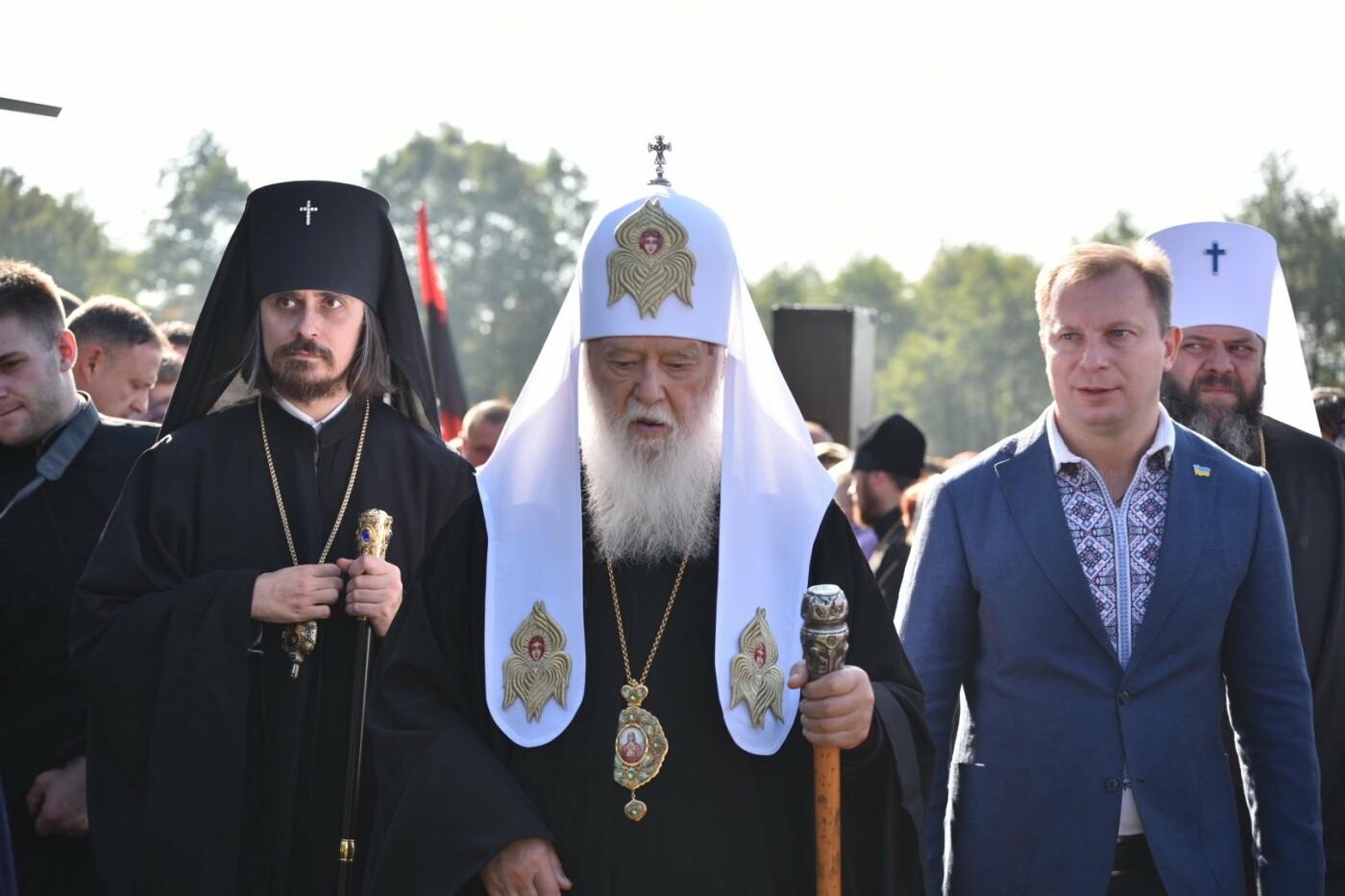 На Тернопільщину прибув Святійший Патріарх Київський і всієї Русі-України Філарет (фото), фото-2