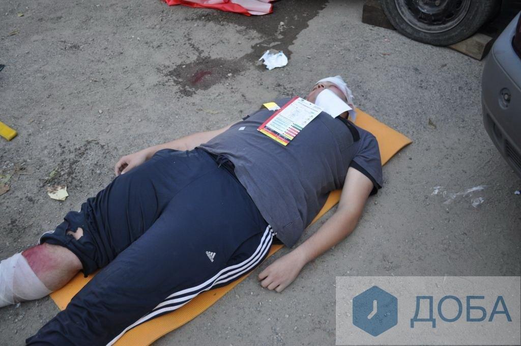 """""""Аварія із п'ятнадцятьма потерпілими"""": тернопільські медики провели масштабні навчання (ФОТО+ВІДЕО), фото-3"""