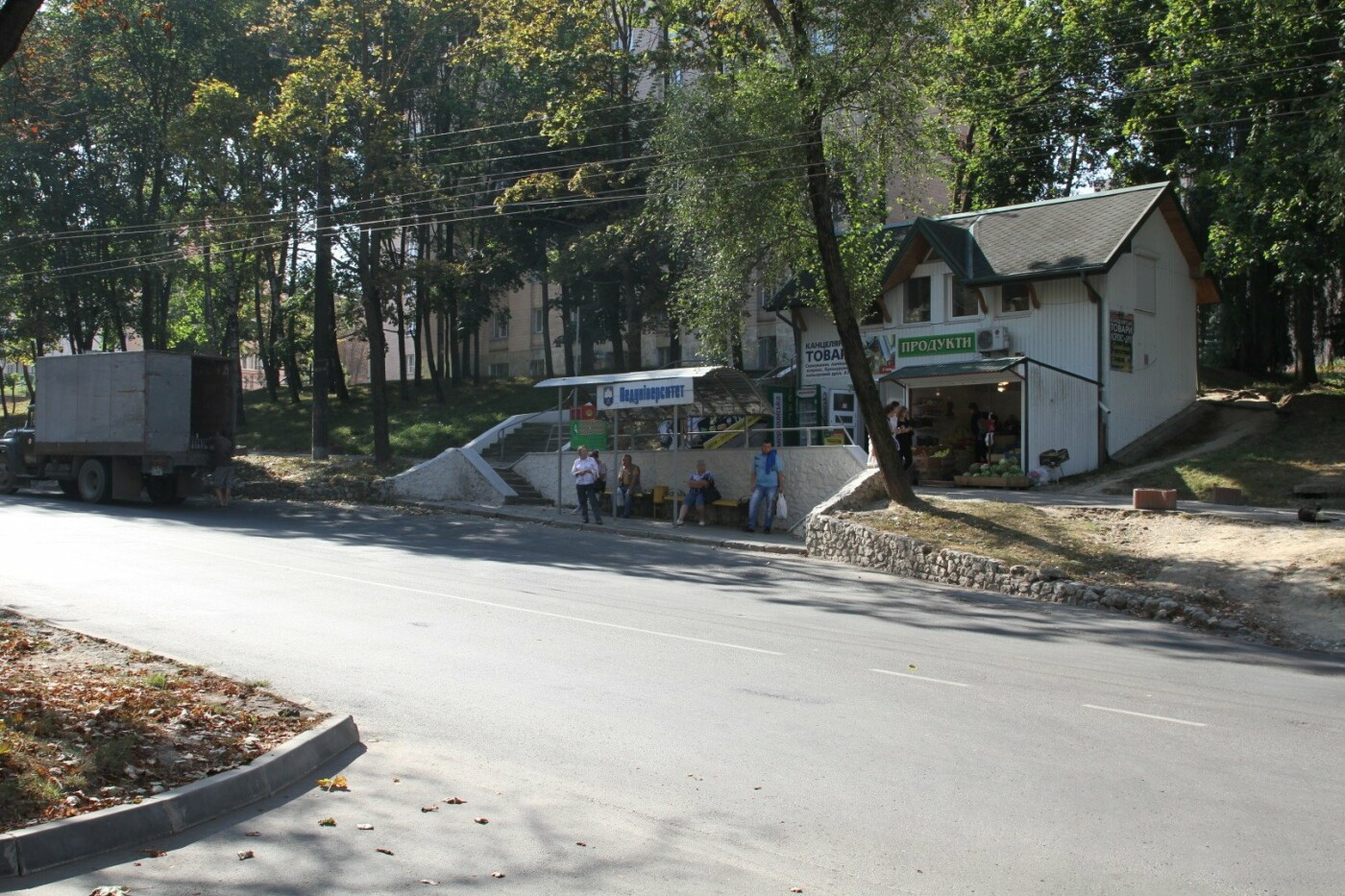 Одну із зупинок в Тернополі пропонують зробити комфортнішою для студентів (ФОТО), фото-2