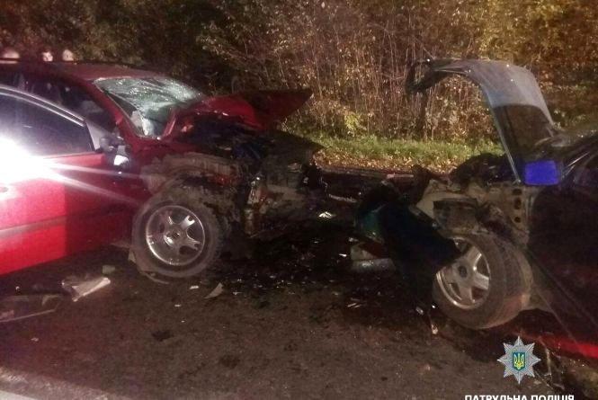 На Тернопільщині сталася ДТП: постраждало семеро людей (ФОТО) , фото-1