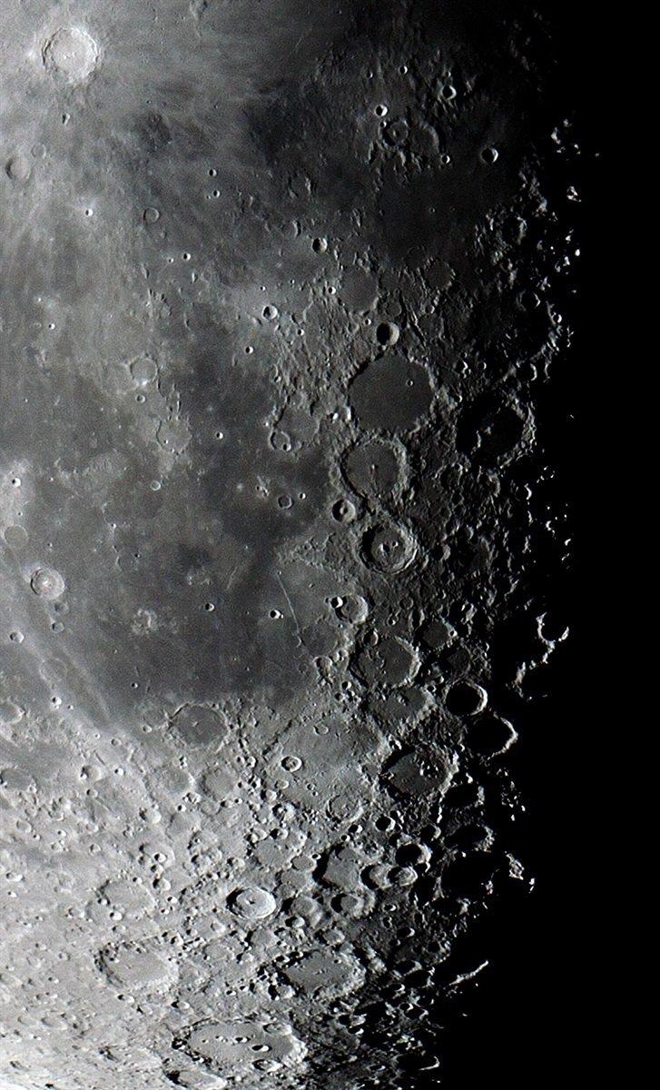 Чиновник на Тернопільщині робить фото Місяця, на яких видно кожен кратер (ФОТО), фото-4