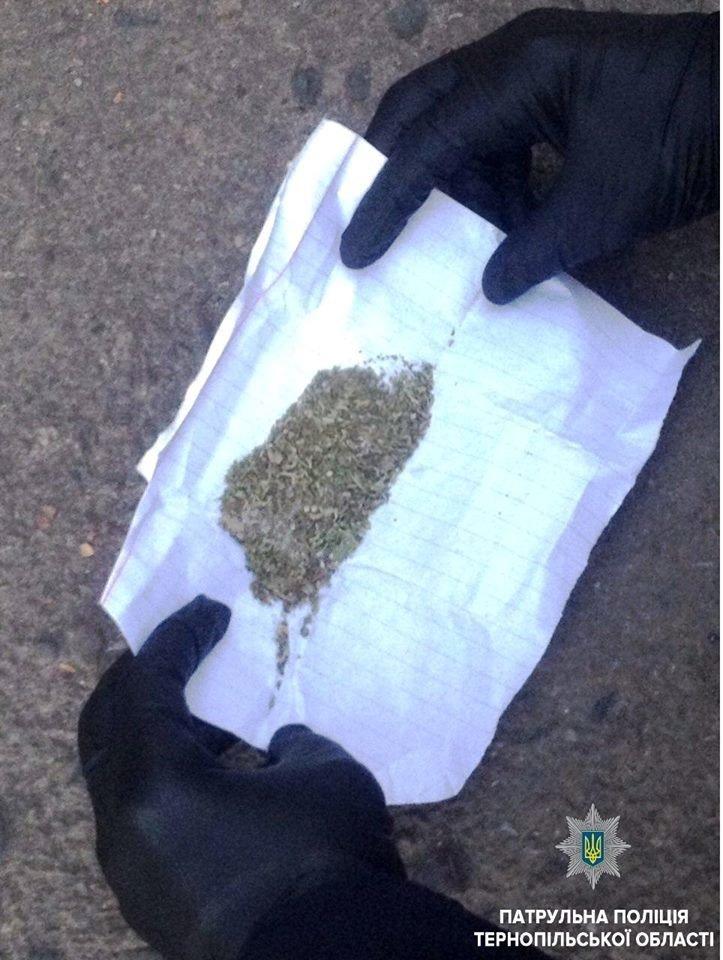У Тернополі затримали двох чоловіків із повними кишенями наркотиків (фото), фото-1