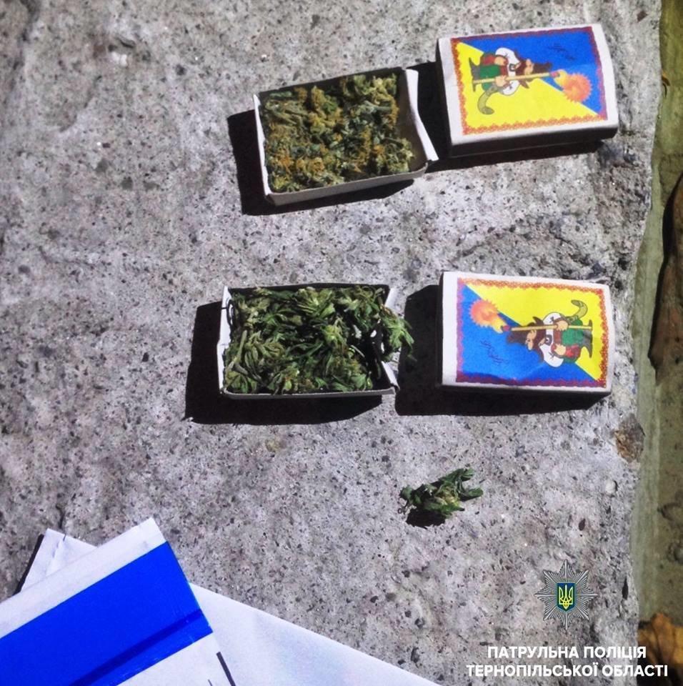 У Тернополі затримали двох чоловіків із повними кишенями наркотиків (фото), фото-2