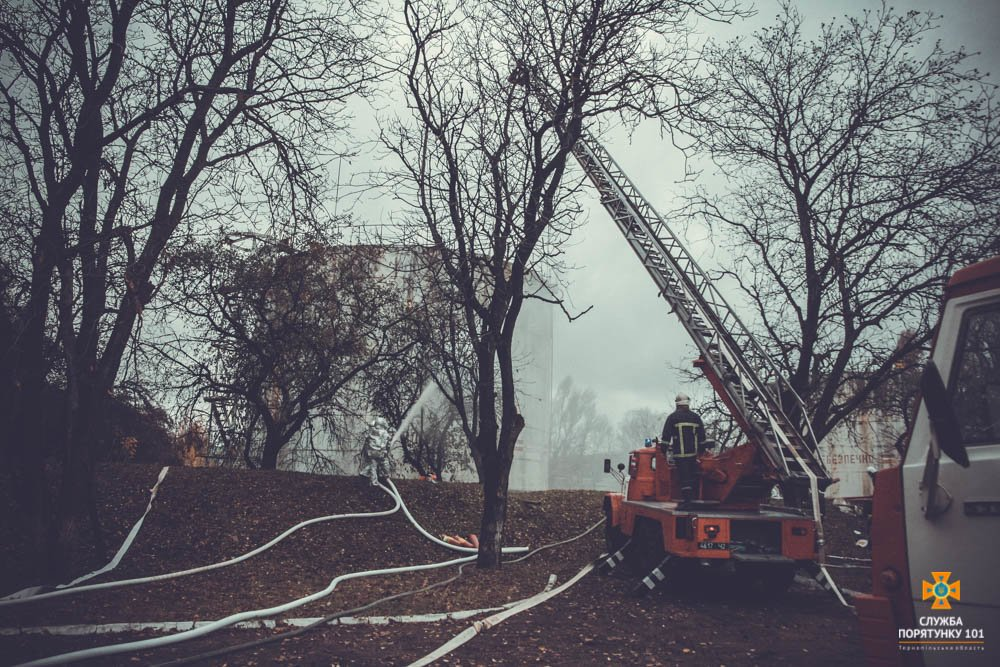 """У Тернополі """"горіло"""" депо (фото), фото-1"""