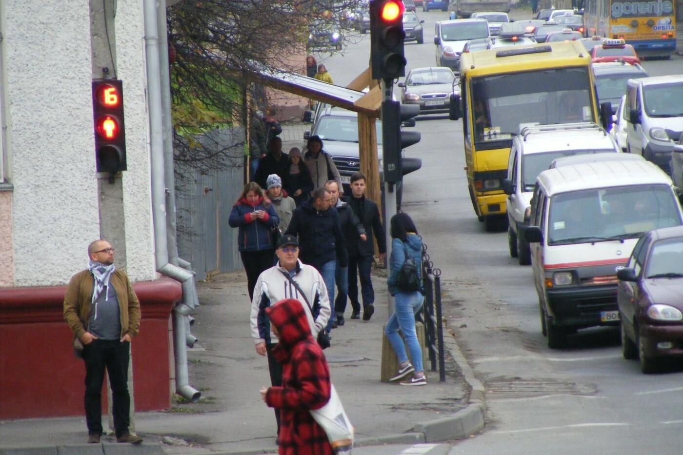 Флешмоб у Тернополі  #пішки_на_роботу в дії (ФОТО), фото-4