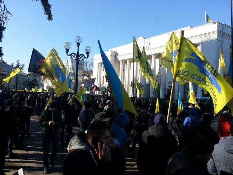 Тернополяни розпочали акцію протесту під стінами Верховної Ради (ФОТО), фото-3