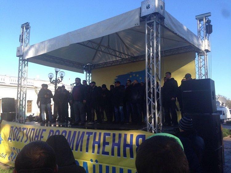 Тернополяни розпочали акцію протесту під стінами Верховної Ради (ФОТО), фото-4