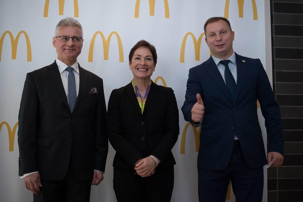 Посол США в Україні Марі Йованович: відкриття МакДональдз у Тернополі – це довіра до міста та інвестиції в економіку (фото), фото-2