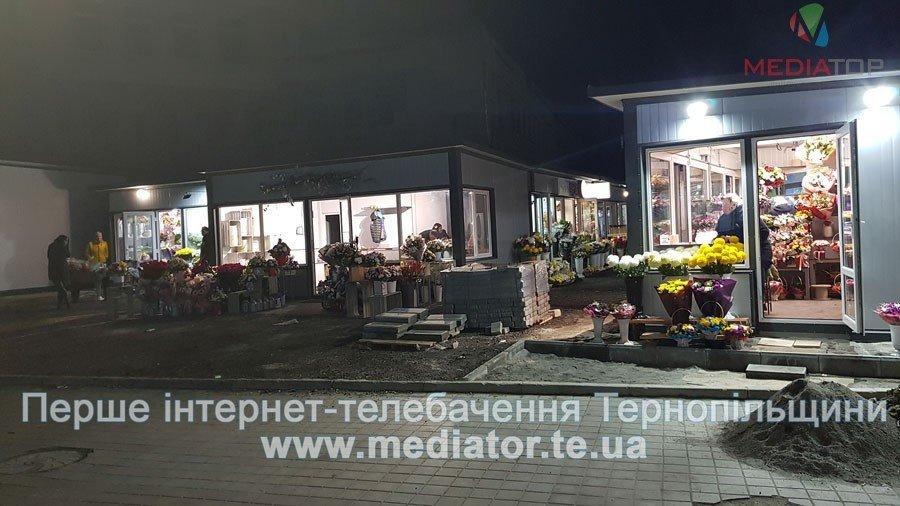 Тернополяни купуватимуть квіти уже на новому ринку, старий забрали під забудову (ФОТО), фото-2