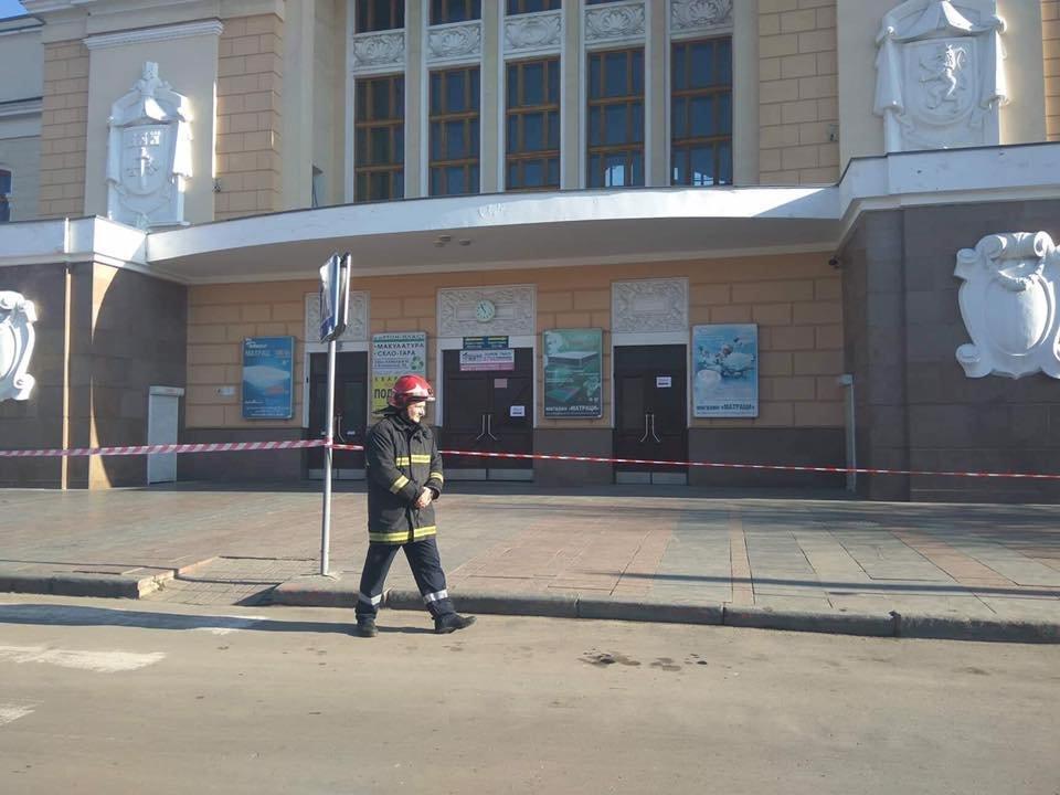 У Тернополі «замінували» вокзали (ФОТО), фото-3