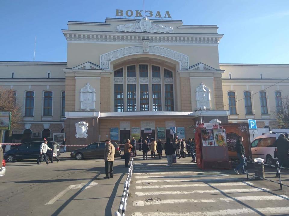 У Тернополі «замінували» вокзали (ФОТО), фото-1