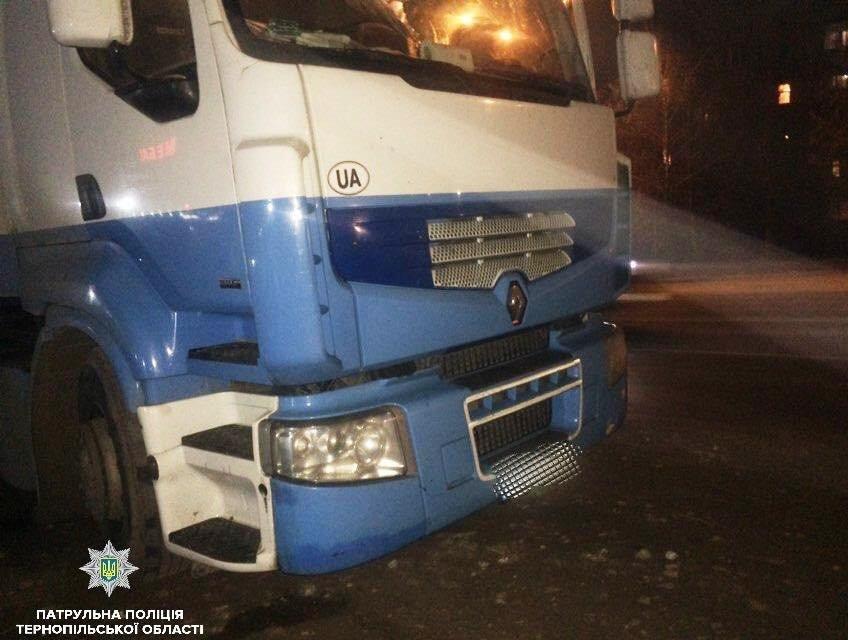 У Тернополі водій незаконно перевизив деревину,  його видало порушення ПДР (ФОТО), фото-1
