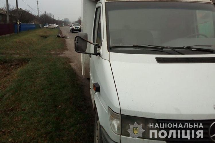 На Тернопільщині смертельна ДТП: вантажівка збила велосипедистку (ФОТО), фото-1