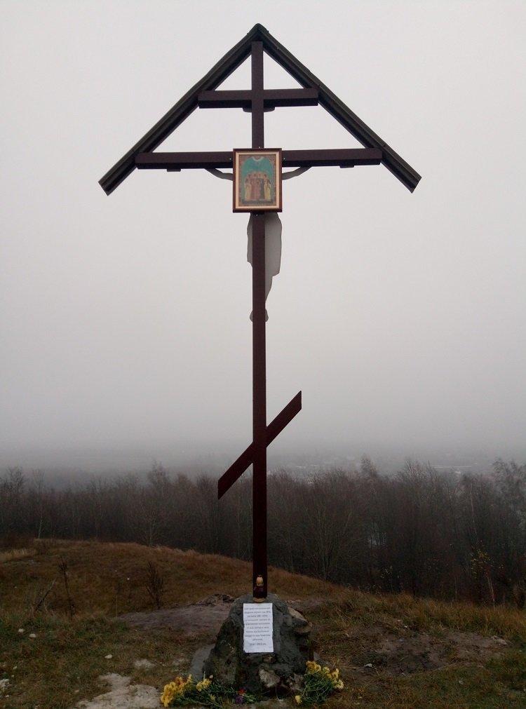 На Тернопільщині священики УПЦ МП встановили хрест на честь російського царя (ФОТО+ВІДЕО), фото-2