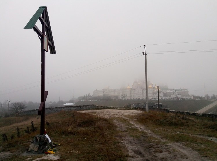 На Тернопільщині священики УПЦ МП встановили хрест на честь російського царя (ФОТО+ВІДЕО), фото-1