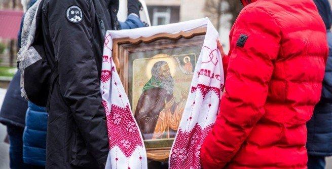 До Тернополя привезли ікони з гори Афон, фото-1