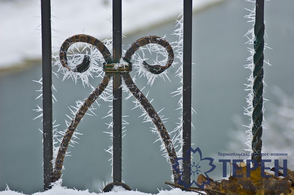 Неймовірна краса: як виглядає найвідоміший каньйон Тернопільщини під снігом (ФОТО), фото-4