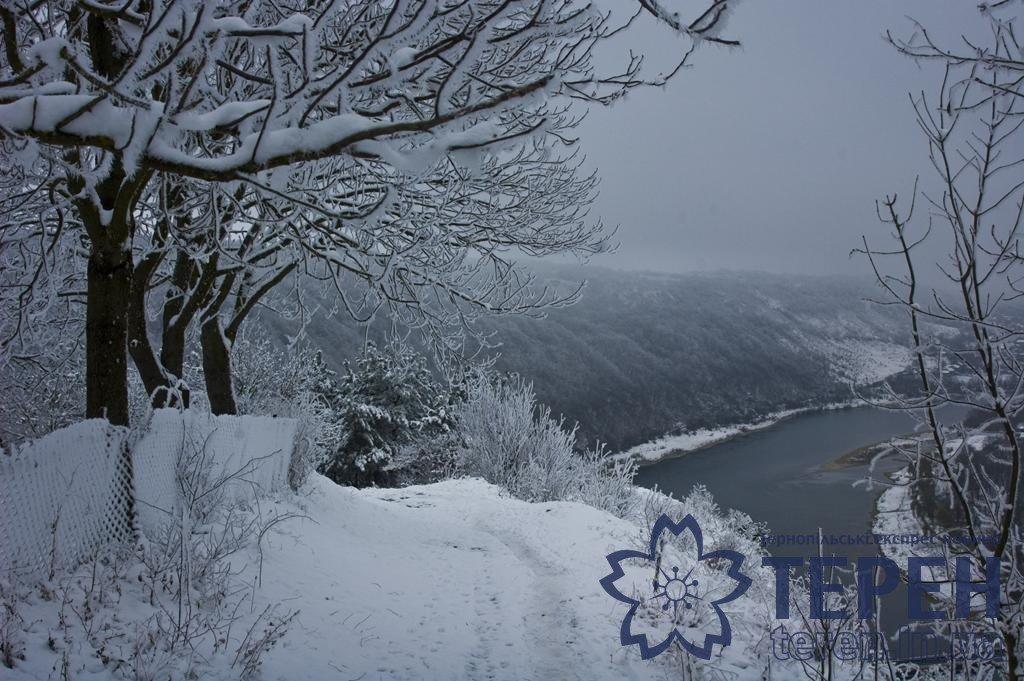 Неймовірна краса: як виглядає найвідоміший каньйон Тернопільщини під снігом (ФОТО), фото-7