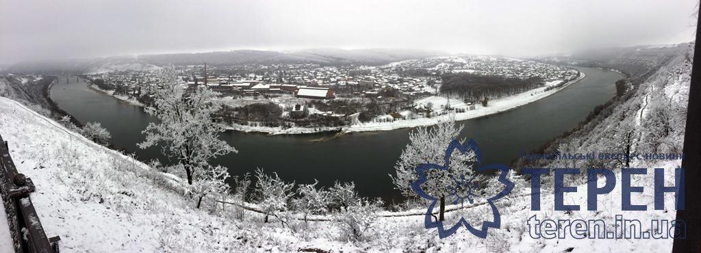 Неймовірна краса: як виглядає найвідоміший каньйон Тернопільщини під снігом (ФОТО), фото-9