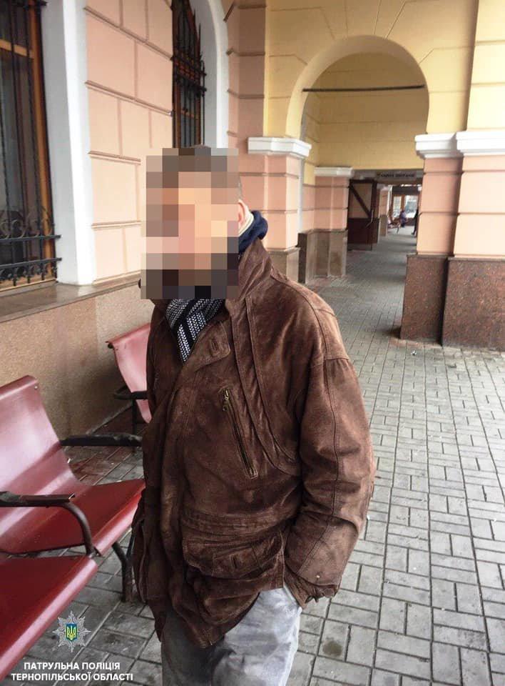 30-річний тернополянин пограбував інваліда прямо на залізничному вокзалі (ФОТО), фото-1