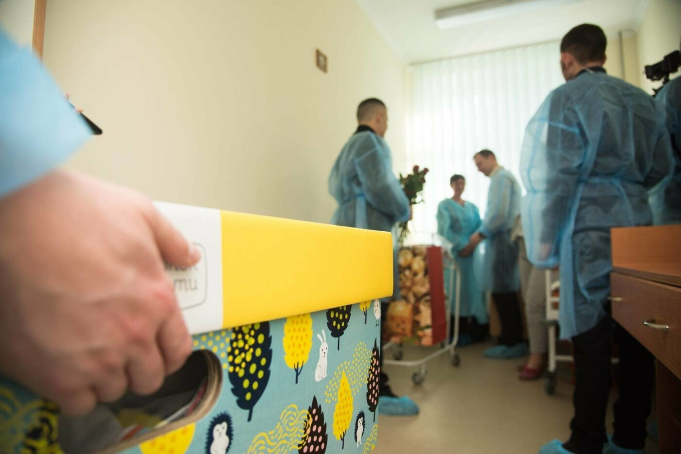 Степан Барна відвідав новонароджених у перинатальному центрі «Мати і дитина» (Фото), фото-1
