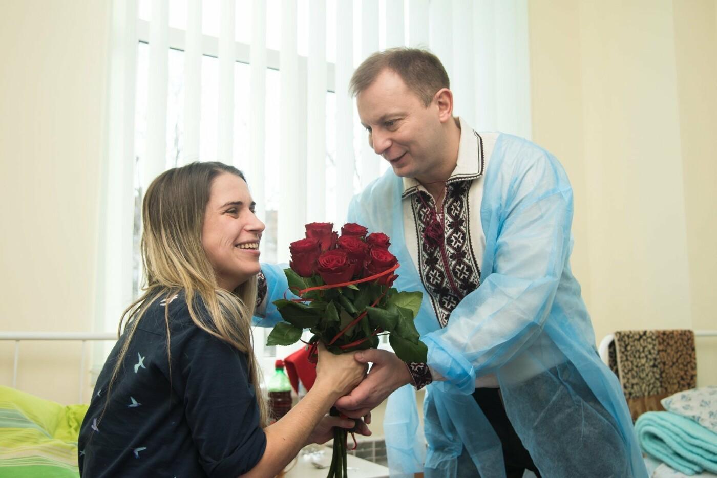 Степан Барна відвідав новонароджених у перинатальному центрі «Мати і дитина» (Фото), фото-3