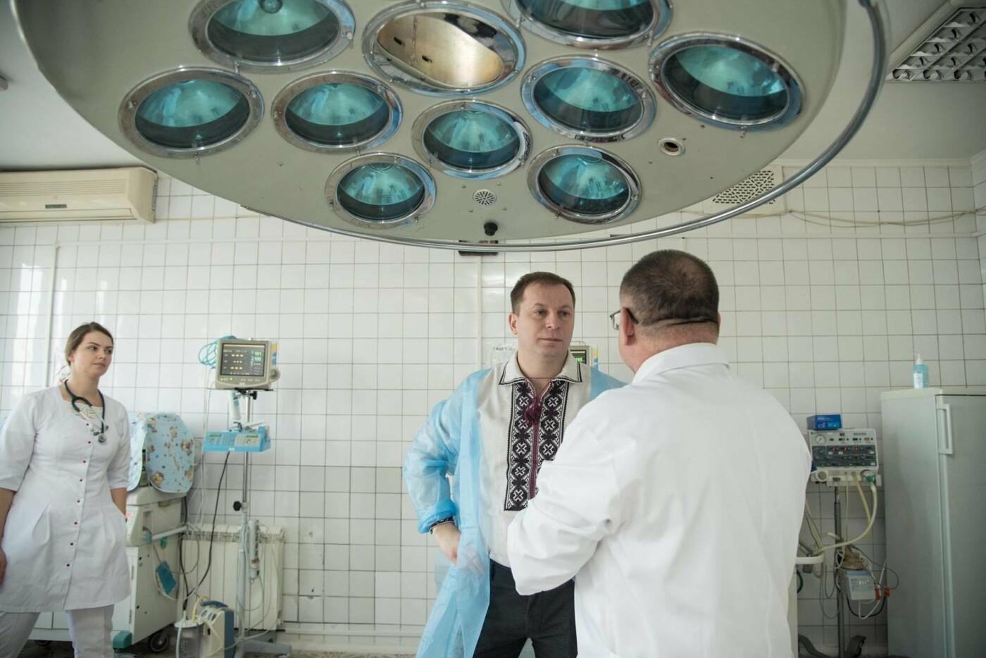 Степан Барна відвідав новонароджених у перинатальному центрі «Мати і дитина» (Фото), фото-6