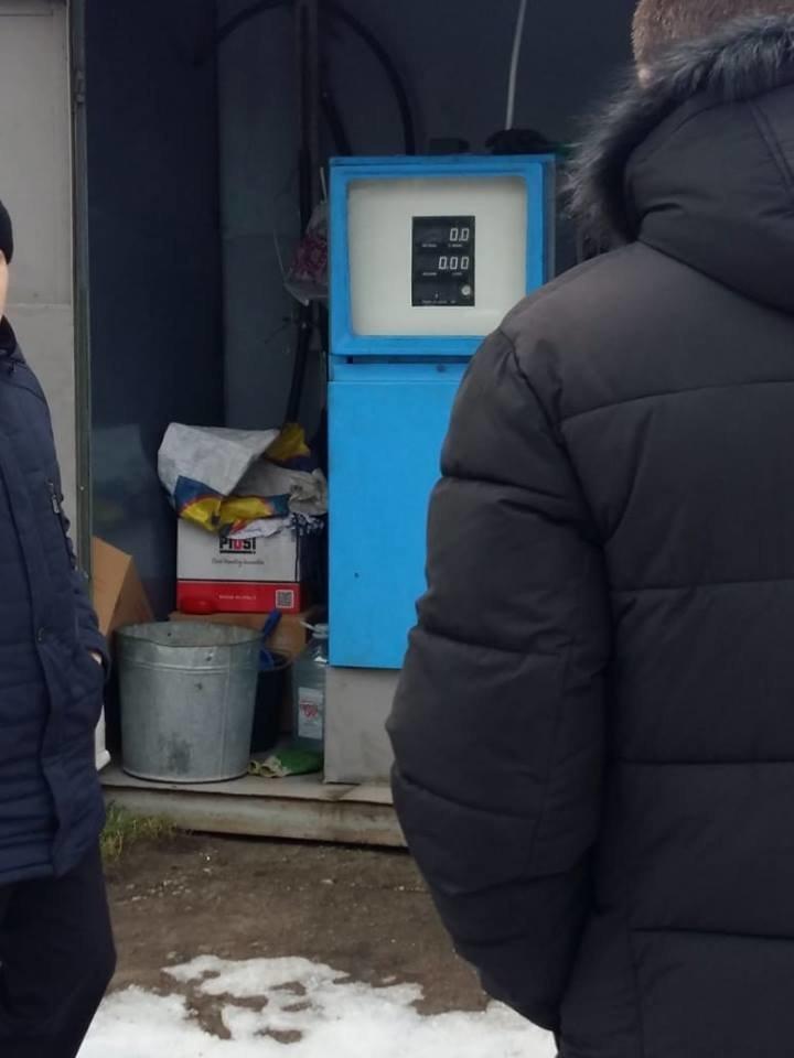На Тернопільщині викрили нелегальну АЗС (Фото), фото-1