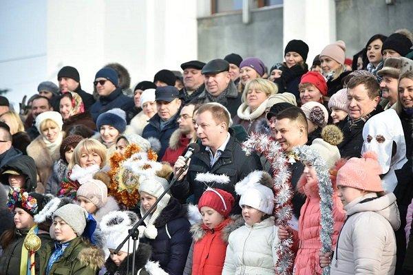 Тернопільська ОДА та облрада запустили флешмоб «Україна колядує» (фото, відео), фото-1