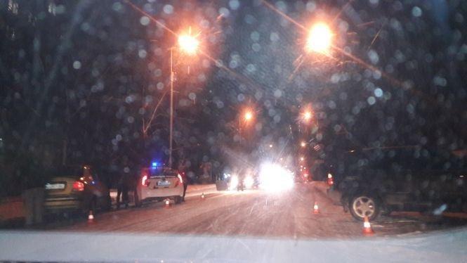 В Тернополі через слизьку дорогу стались вже дві ДТП (Фото), фото-2