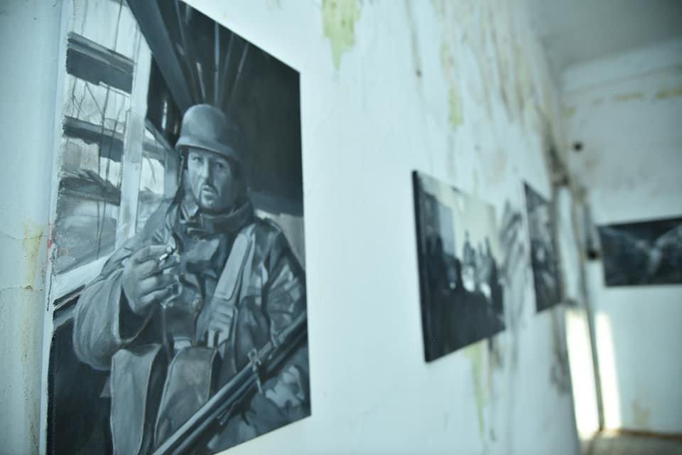 Зворушливий проект про оборону Донецького аеропорту презентували на Тернопільщині (ФОТО), фото-8