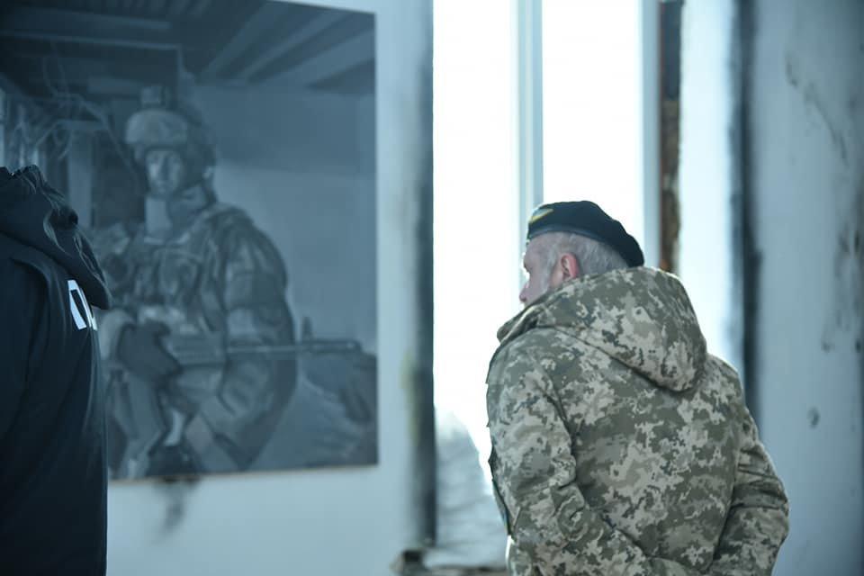 Зворушливий проект про оборону Донецького аеропорту презентували на Тернопільщині (ФОТО), фото-1