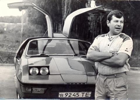 Сорок років тому тернополянин зібрав автомобіль, який і сьогодні вразив би автосалони Європи (ФОТО), фото-1