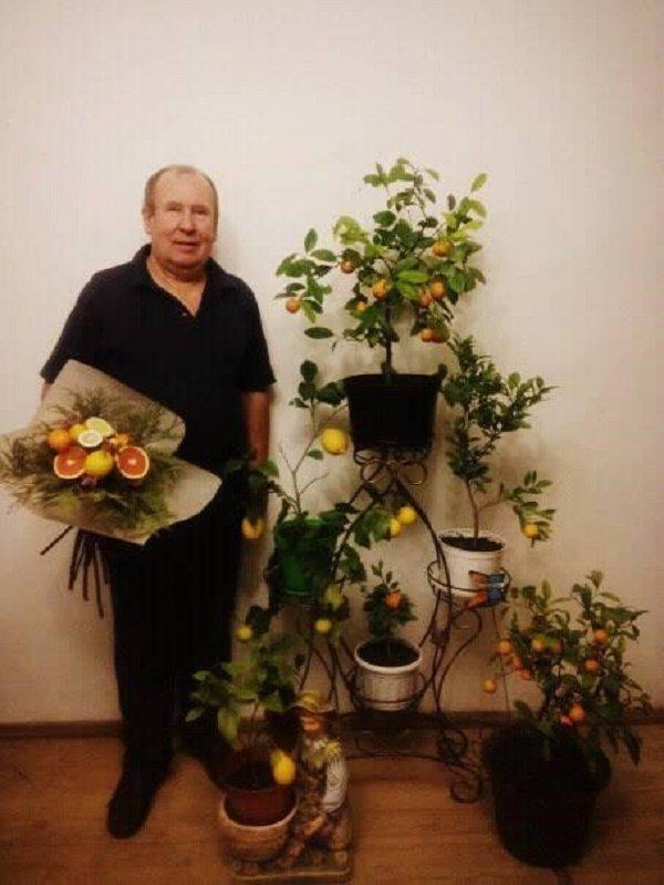 У чоловіка з Тернопільщини лимони родять по півкілограма (ФОТО), фото-1