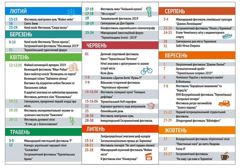 На тернополян цього року чекають десятки фестивалів (розклад), фото-2