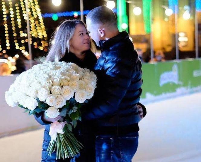 """Романтичне освідчення на тернопільській ковзанці: дівчина сказала: """"Так!"""" (ФОТО+ВІДЕО), фото-1"""