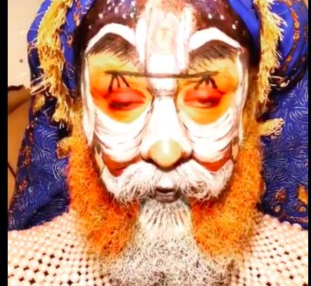 Американський блогер намалював на своєму обличчі картину тернополянина (ФОТО+ВІДЕО), фото-1