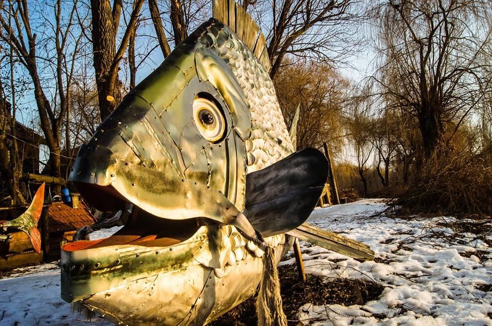 Єдиний у світі пам'ятник рибі, яка першою вийшла на берег, стоїть у Тернополі? (ФОТО), фото-2