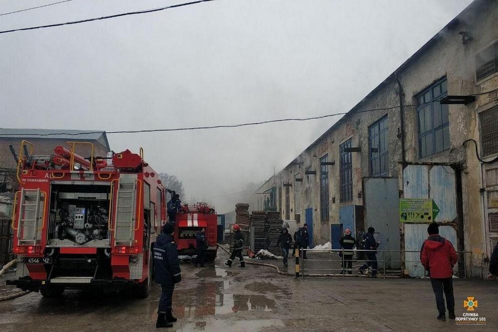 Пожежа у Тернополі: під час гасіння вогню неможливо було дихати (ФОТО), фото-2