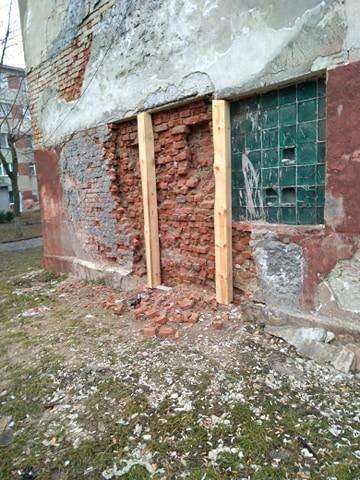 У Тернополі на проспекті Злуки може завалитися п'ятиповерховий сімейний гуртожиток (ФОТО), фото-1