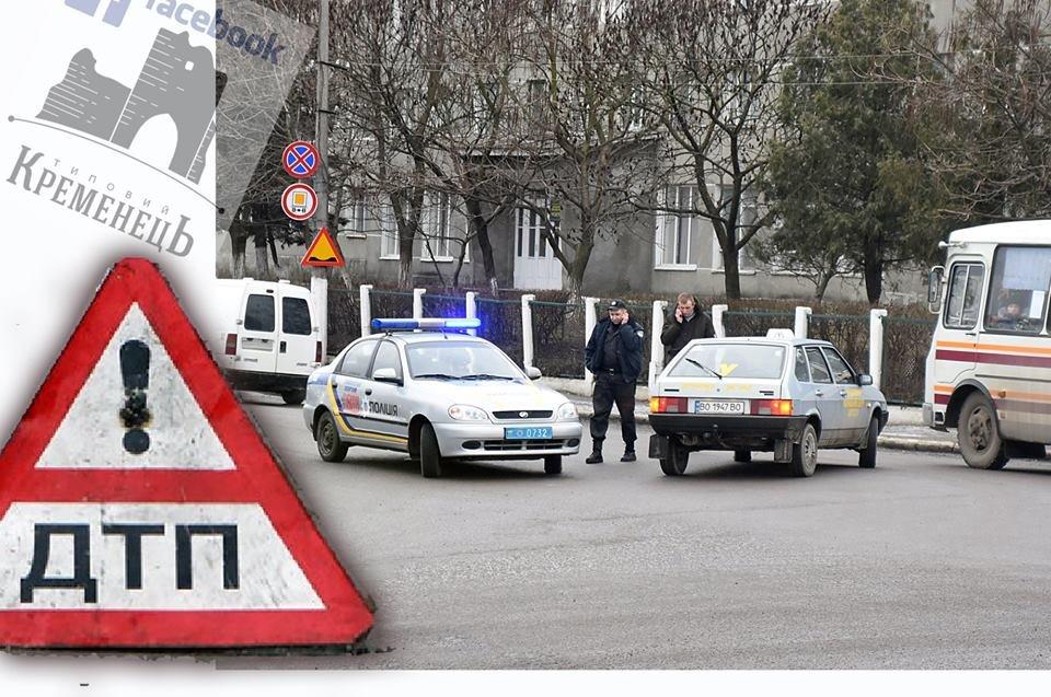 На Тернопільщині не розминулись патрульні та учбове авто (Фото), фото-1
