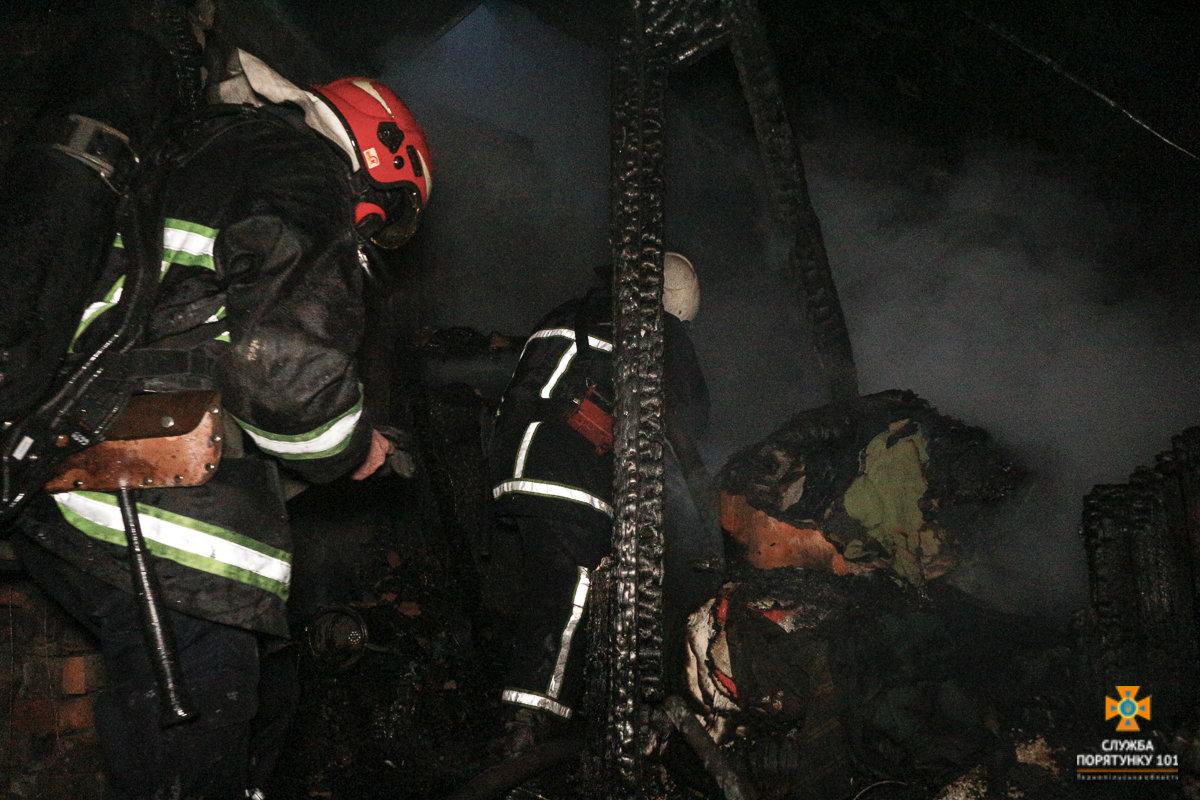 Пожежу житлового будинку на Галицькій гасили майже три години аж 20 рятувальників (Фото), фото-3