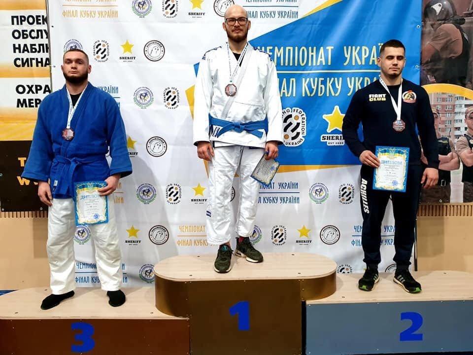 Тернополяни успішно виступили на чемпіонаті України з панкратіону, фото-1