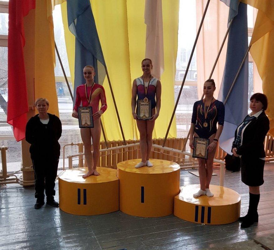 Тернопільська гімнастка здобула п'ять нагород на чемпіонаті України зі спортивної гімнастики (ФОТО), фото-1
