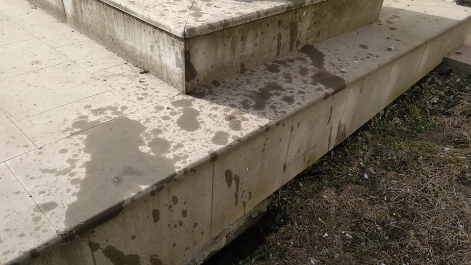Вандалізм на Тернопільщині: у Бучачі поглумилися над пам'ятником Пінзелю (ФОТО), фото-2